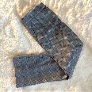 PLAID WORK PANTS